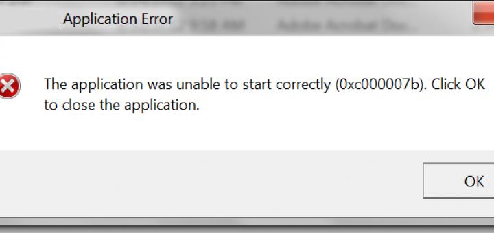 how to fix 0xc00007b error, error 0xc00007b, 0xc00007b fix