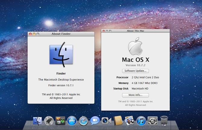 Mac OS X 10.7