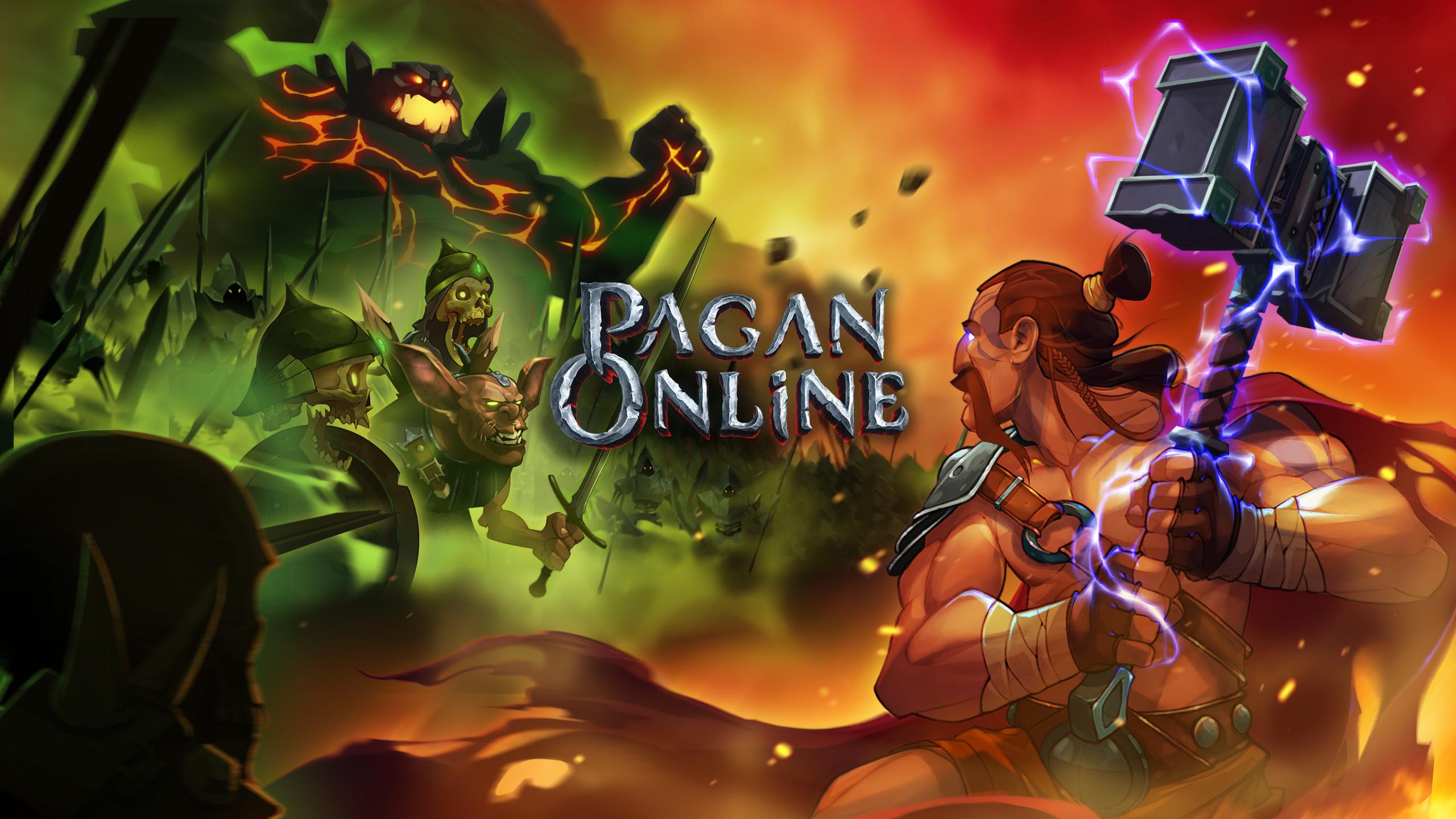 Pagan ,Online
