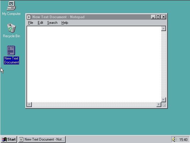 Windows 95, Browser