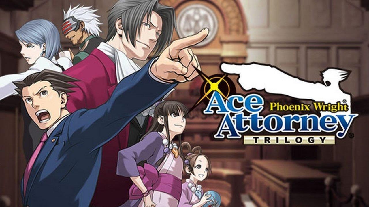 ace ,attorney, trilogy
