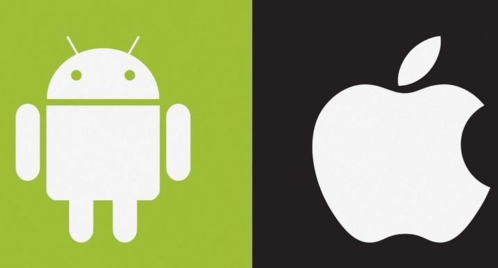 apple and google android