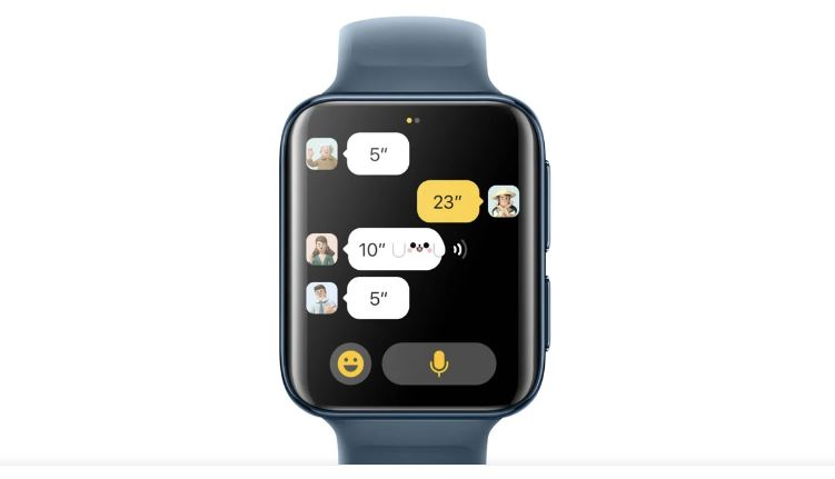 chat oppo watch